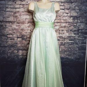 Jessica McClintock Bridal Seafoam Dreass, Size 6